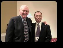 アトランタセミナーにてDr.ロイ先生と院長